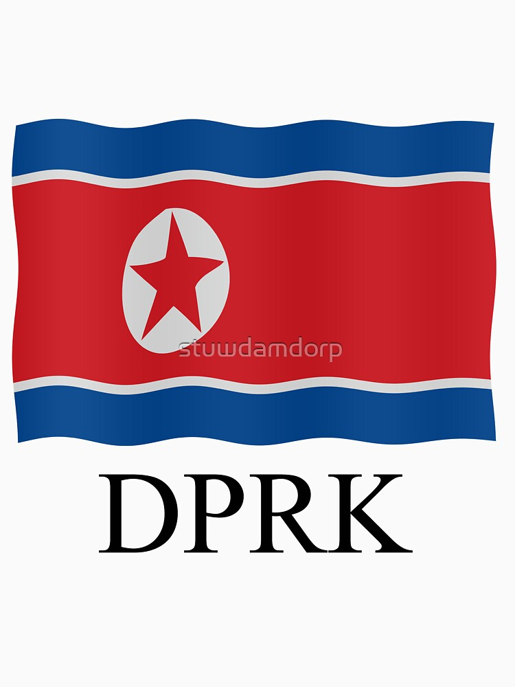 DPRK flag by stuwdamdorp