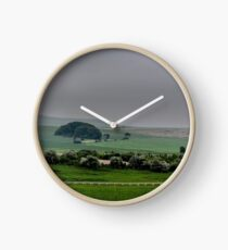 English Country Landscape 3 Clock