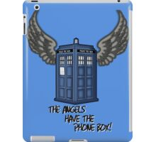 The Angels Have the Phone Box - Doctor Who iPad Case/Skin