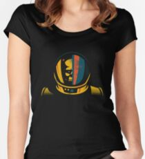 lost in space of nowhere Women's Fitted Scoop T-Shirt