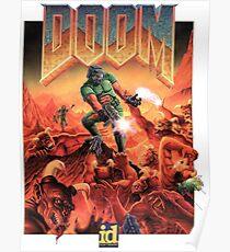 Doom - 1993 Poster PC FPS  Poster