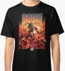 Camiseta clásica Doom - 1993 Poster PC FPS