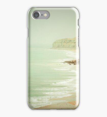 pastel green haze iPhone Case/Skin