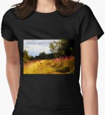 Willow Herb Womens Fitted T-Shirt