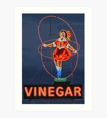 Skipping Girl Vinegar • Melbourne • Victoria Art Print