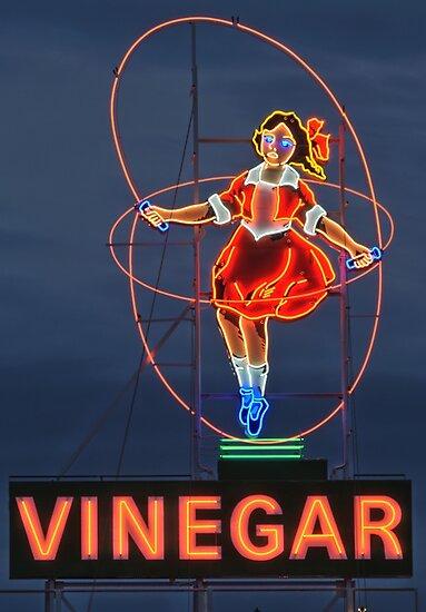 Skipping Girl Vinegar • Melbourne • Victoria by William Bullimore