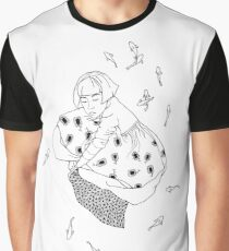 girl with fish Graphic T-Shirt
