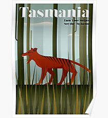 TASMANIA; Vintage Travel and Tourism Advertising Print Poster