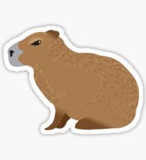 Capybara Sticker