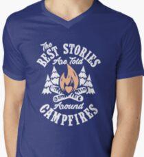 Campfire Stories Mens V-Neck T-Shirt