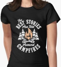 Campfire Stories Women's Fitted T-Shirt