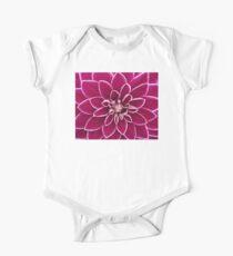 Beautiful purple dahlia flower Kids Clothes