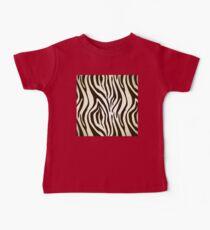 Zebra skin print stripes pattern Kids Clothes