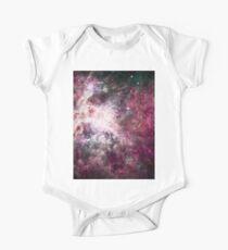 Colorful Galaxy Nebula One Piece - Short Sleeve