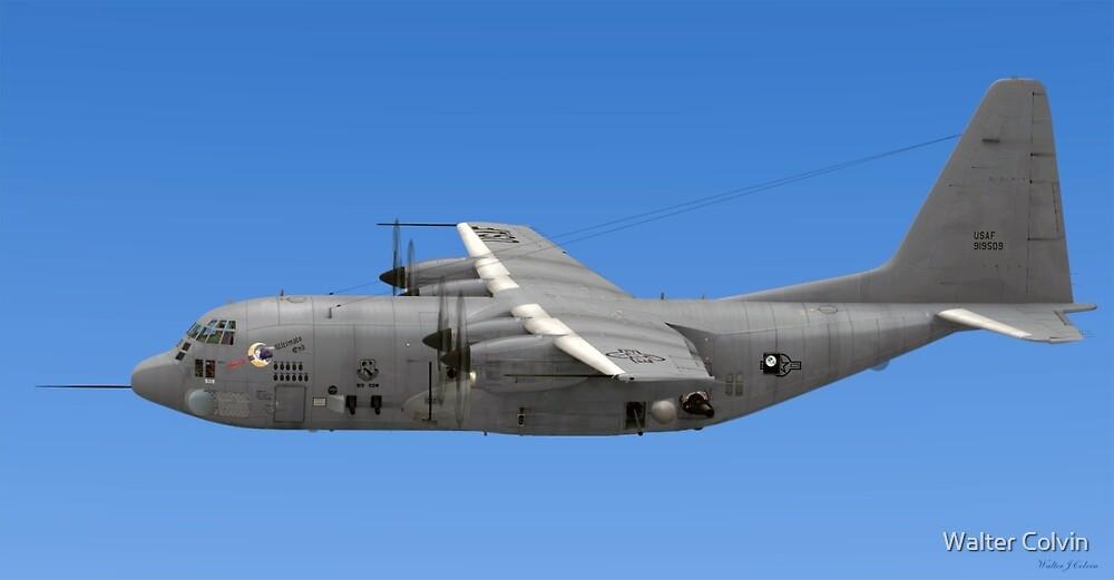 Lockheed AC-130 Gunship (Spectre) by Walter Colvin