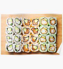 Sushi Rolls Poster