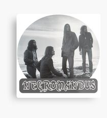 Necromandus - St Bees Cumbria - 1972 Metal Print