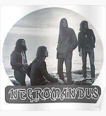 Necromandus - St Bees Cumbria - 1972 Poster