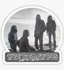 Necromandus - St Bees Cumbria - 1972 Sticker