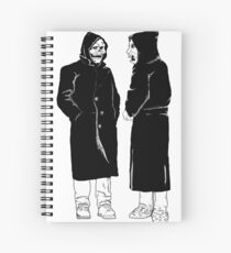brand new - the devil and god  Spiral Notebook