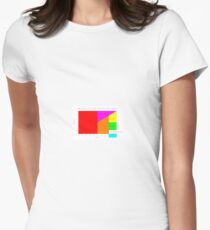 Camiseta entallada para mujer Personality Zone Matrix for Women b0daec177597b