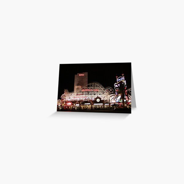 Boardwalk Las Vegas Greeting Card