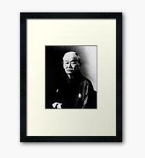 Jigoro Kano JUDO Gerahmtes Wandbild