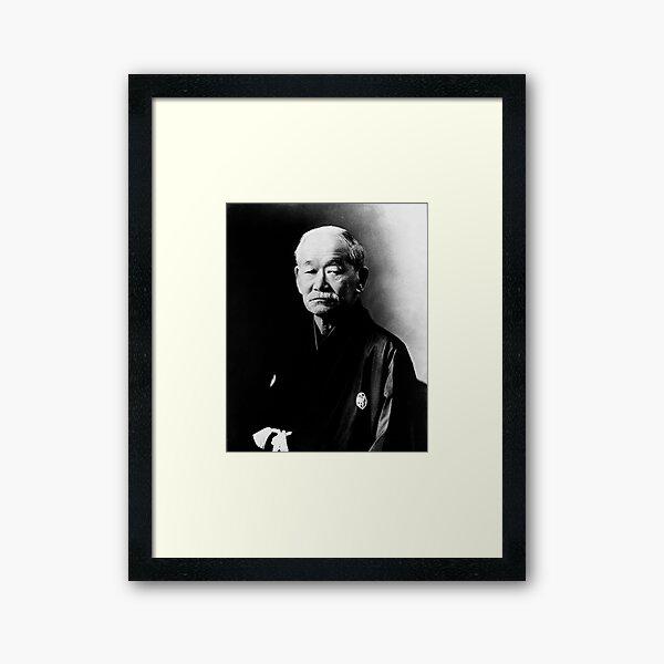 Jigoro Kano JUDO Framed Art Print