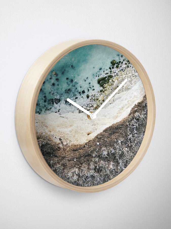 Alternate view of on the edge Clock