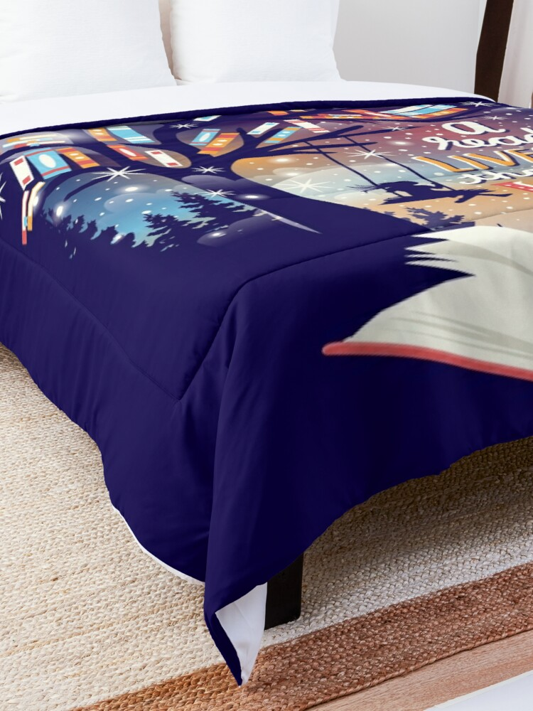 Alternate view of Thousand lives Comforter