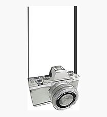 Dslr Camera sketch Photographic Print