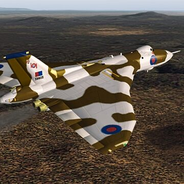 Avro Vulcan by Skyviper