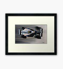 Ayrton Senna - Williams Renault FW16 Framed Print