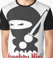 The Naughty Ninja Graphic T-Shirt