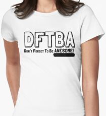 DFTBA! Womens Fitted T-Shirt