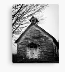 Old Country Church Charm Canvas Print