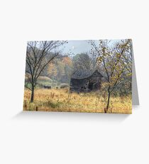 Autumn Beckons Beyond the Pasture Greeting Card