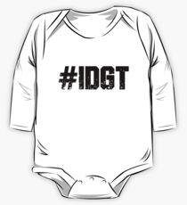 #IDGT One Piece - Long Sleeve