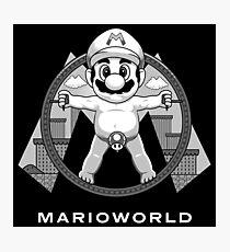 Mario World Photographic Print