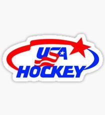 Hockey USA Sticker