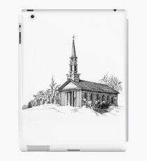New England Snow Scene iPad Case/Skin