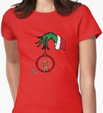 Merry Christmas - Zenzy&Grinch Women's Fitted T-Shirt