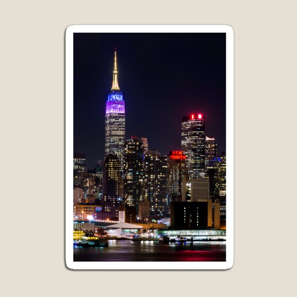 Empire State Building and the New Yorker Magnet