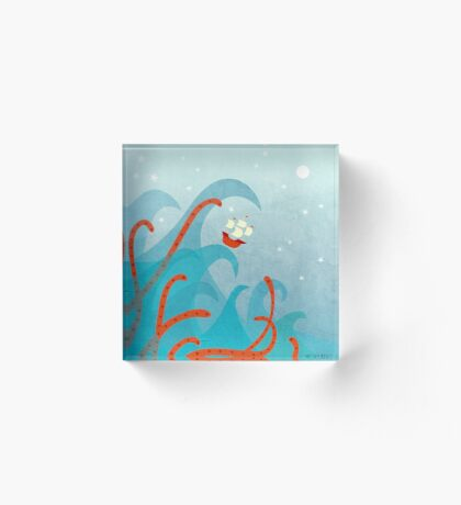 A Bad Day For Sailors Acrylic Block