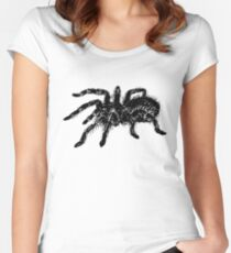 Tarantula spider Women's Fitted Scoop T-Shirt