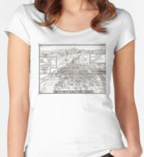 Colorado Springs - Colorado - 1909 Women's Fitted Scoop T-Shirt