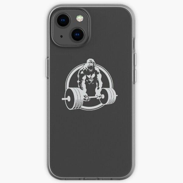 Gorilla-anhebendes Eignung-Gymnastikt-stück iPhone Flexible Hülle