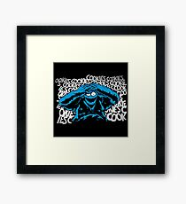 Just One Bad Cookie Framed Print