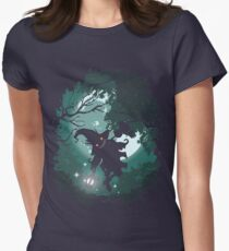 ZELDA TWILIGHT PRINCESS SKULLKID Womens Fitted T-Shirt