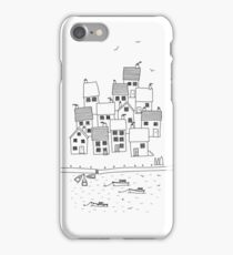 Harbour Sketch iPhone Case/Skin